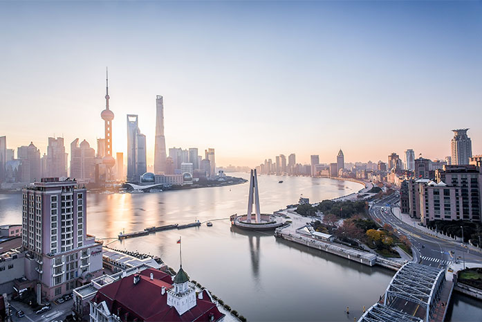ARACON, M&A consulting China, Shanghai skyline,